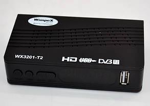 Цифровой эфирный Т2 тюнер WimpeX WX3201-T2, фото 2