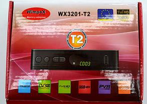 Цифровой эфирный Т2 тюнер WimpeX WX3201-T2, фото 3