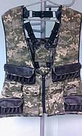 Охотничий жилет разгрузочный с рюкзаком