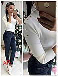 Женский свитер рубчик (3 цвета), фото 8