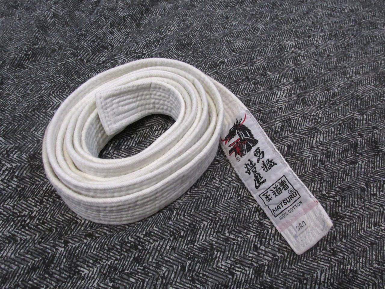 Пояс кимоно Matsuru, 280, cotton, Мин следы носки, Уценка!