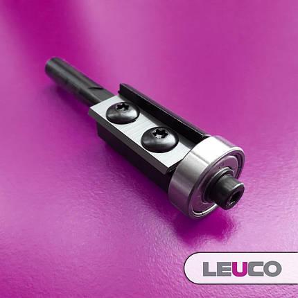 19х30х74х8 Фреза Leuco для ручного фрезера для обработки кромки со сменными ножами и нижним подшипником, фото 2