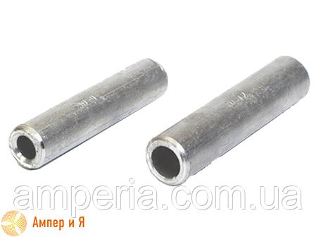 Соединительная кабельная алюминиевая гильза под опрессовку GL-50, фото 2