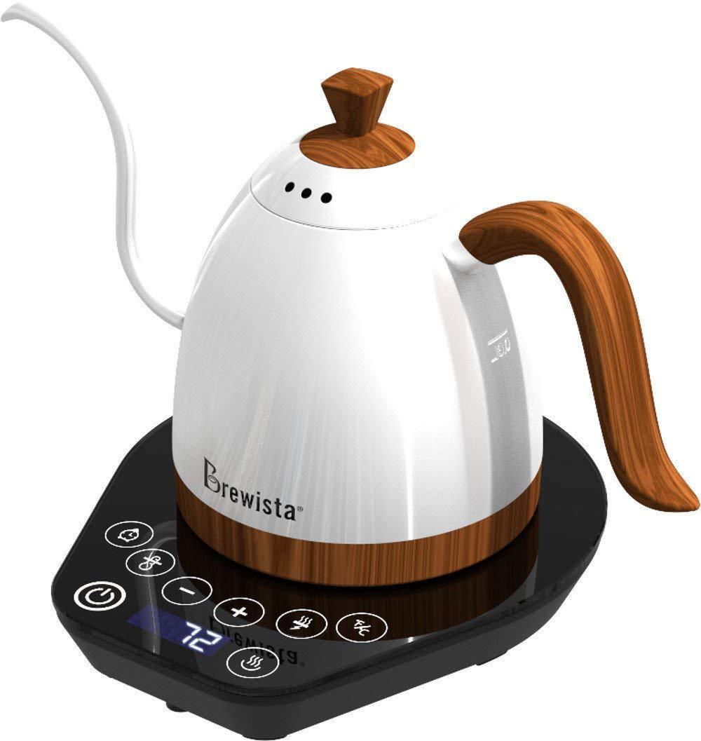 Электрочайник для кофе Brewista Artisan White с поддержкой температуры