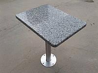 Стол гранитный для кафе б у, гранитные столики б/у, стол для баров ресторанов с гранитной столешницей б/у., фото 1