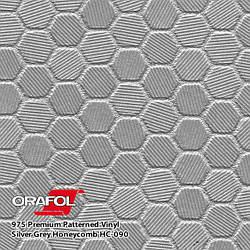 Oracal 975 Honeycomb Silver Gray