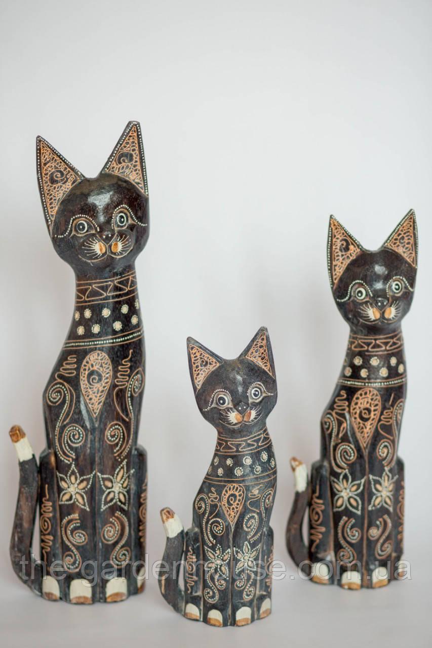 """Семья котов """"Магнолия"""" (50, 40 и 30 см)"""