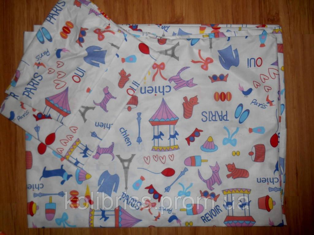 Детское постельное белье в садик