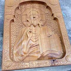 Ікони дерев'яні (різьблені)