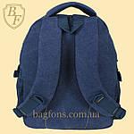 Рюкзак джинсовый (котон) Baby Fish L890 ( ВИДЕООБЗОР ), фото 3