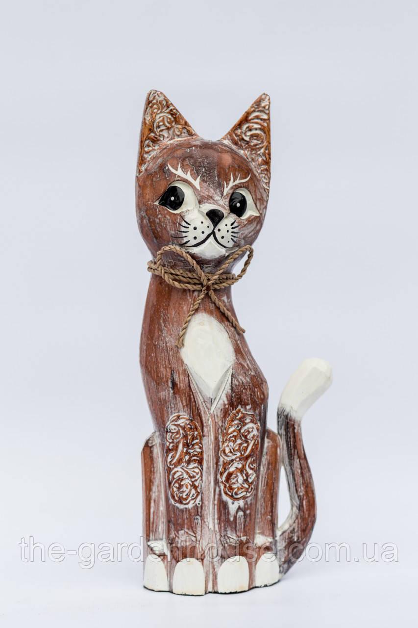 """Статуэтка рыжего кота """"Антик"""", 50 см"""