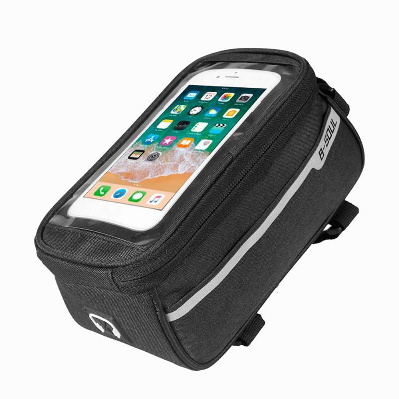 """Сумка велосипедная B-Soul Premium на раму, для телефона до 6.5"""""""