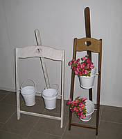 Подставка для цветов Мольберт деревянный , фото 1