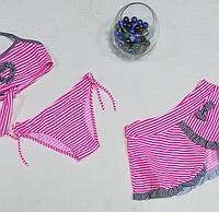 Купальник для девочки с юбкой, фото 1