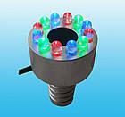 Светильник для фонтана кольцевой AquaFall LR-B12C 1,5W LED (RGB) разноцветный, фото 3