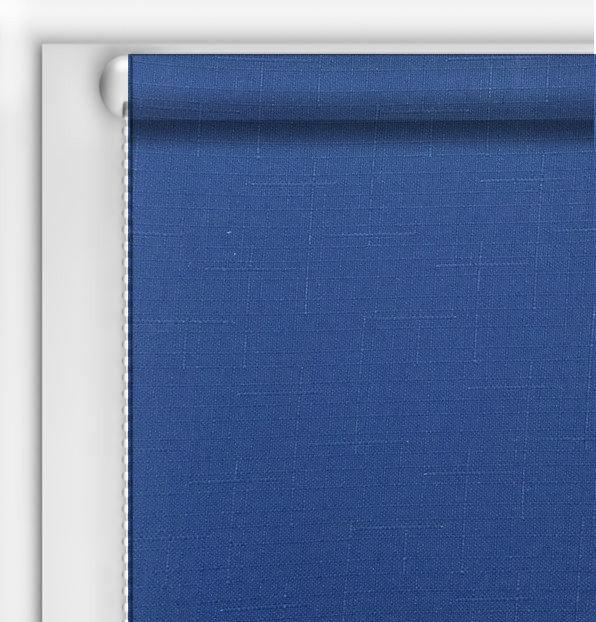 Рулонные шторы DIY Лен Синий джинс