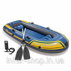 Надувний човен Challenger 3 Set Intex 68370