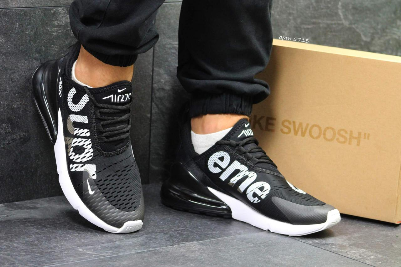 wholesale dealer bdfd8 0f336 Кроссовки Nike Air Max 270 Supreme Black White