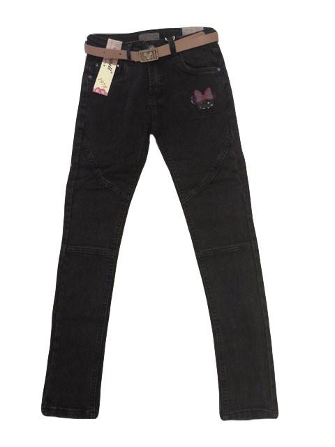 Джинсовые брюки для девочки опт, Seagull, размеры 134-164 р., арт. CSQ-56843