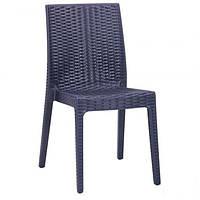 Пластиковий стілець «Selen» антрацит