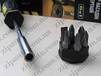 Набор насадок с отверткой (6 предметов) Дорожная карта DK-ST-6