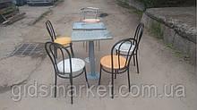 Гранитные столы для кафе б/у, уличные гранитные столы б у, столы с гранитной столешницей б у