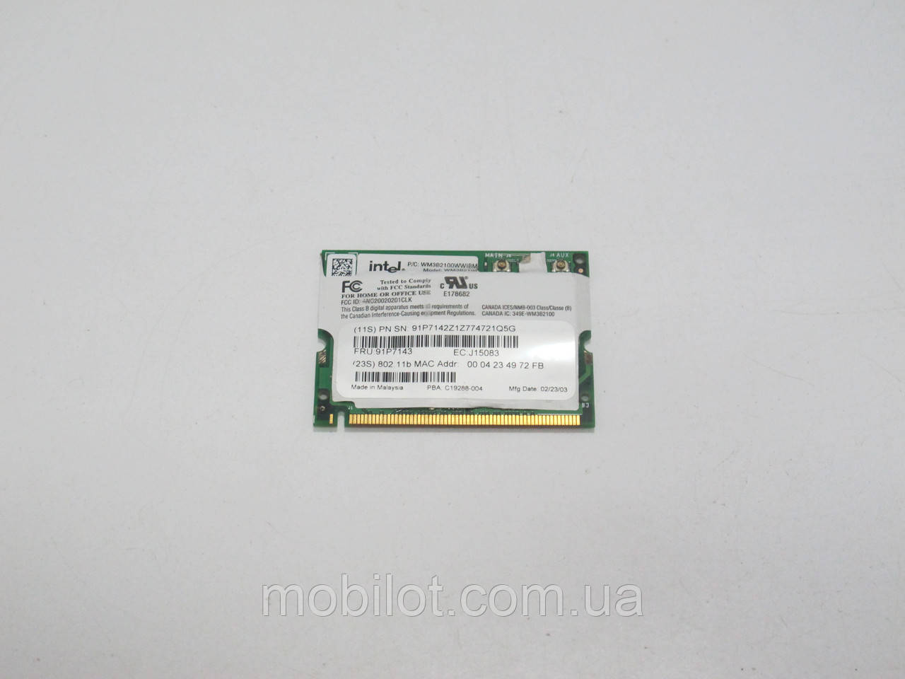 Wi-Fi модуль Lenovo X40 2371 (NZ-6929)