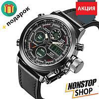 Наручные мужские армейские часы AMST Watch / спортивные часы / наручные часы