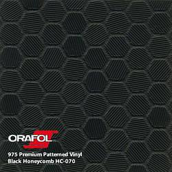 Oracal 975 Honeycomb Black