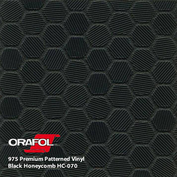 Oracal 975 Honeycomb Black