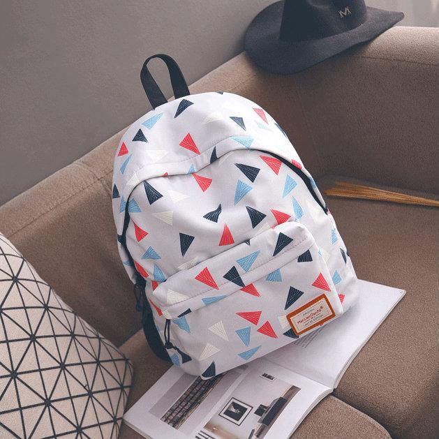 Молодежный рюкзак Треугольники