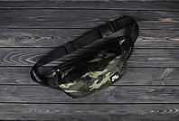 Сумка, бананка через плечо /сумка В стиле Air / Бананка Air камуфляж