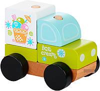 Машинка Экспресс-мороженое Cubika 13173 LM-8, фото 1