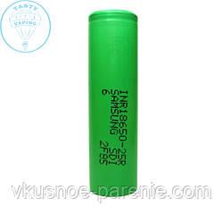 Аккумулятор 18650 Samsung 25R 2500 mAh 20 А