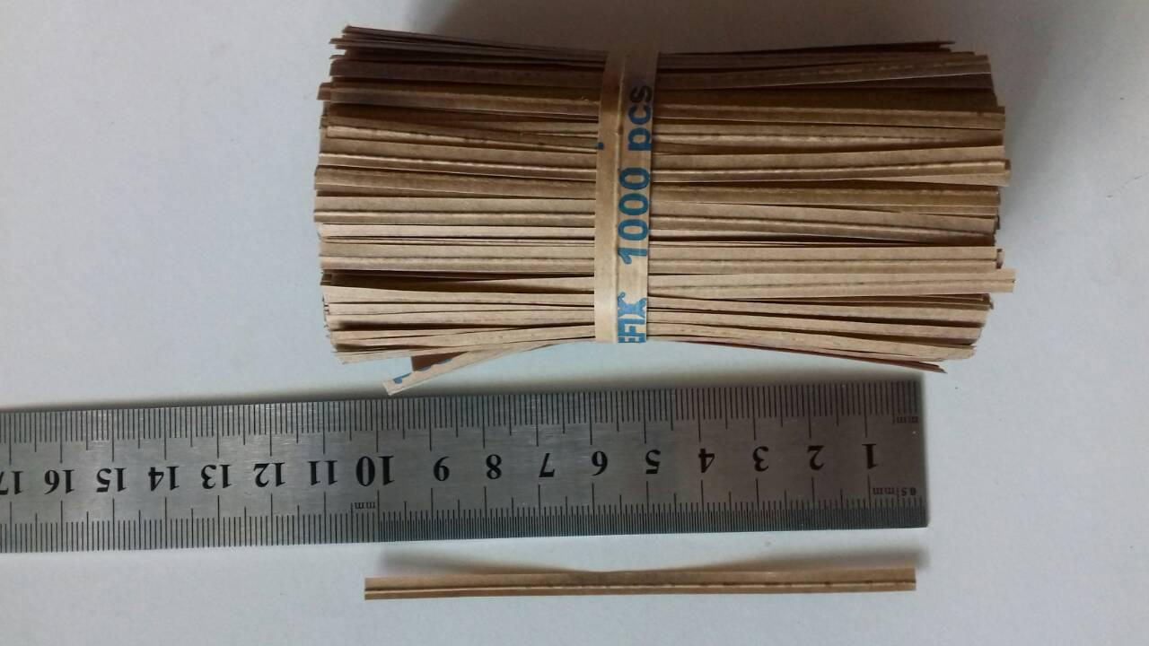 Подвязки для растений проволочные 1000 шт, 10 см (проволока для подвязки растений)