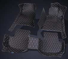 Автомобильные коврики 3D для Skoda Octavia A5 2004 2005 2006 2007 2008 2009 2010 2011 2012 2013 кожаные