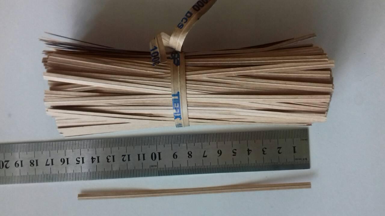 Подвязки для растений проволочные 1000 шт, 15 см (проволока для подвязки растений)