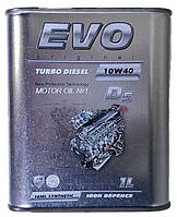 Моторное масло полусинтетическое EVO Turbo Diesel 10w40 1л