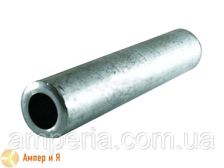 Соединительная кабельная алюминиевая гильза под опрессовку GL-25, фото 2