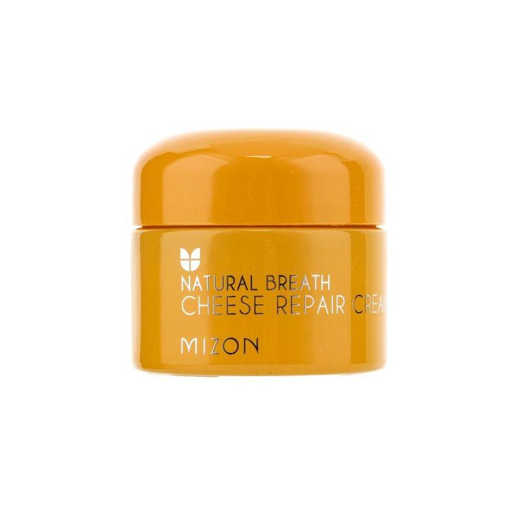 Восстанавливающий крем для лица Mizon Natural Breath Cheese Repair Cream - 50 мл