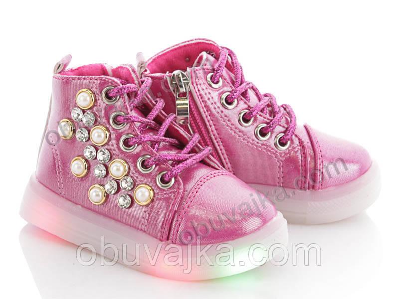 Демисезонная обувь Ботинки от фирмы BBT для девочек оптом(21-26)