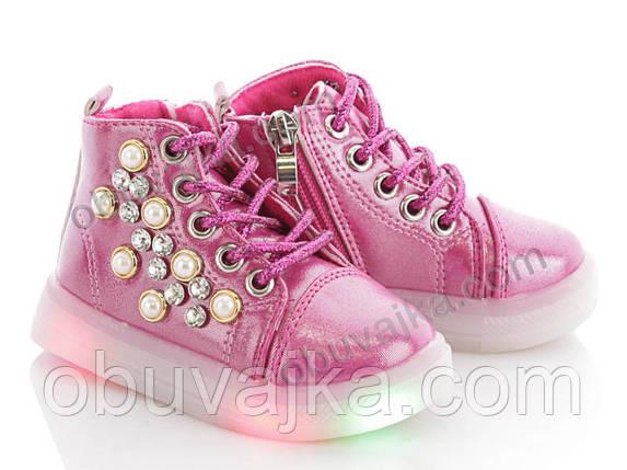 Демисезонная обувь Ботинки от фирмы BBT для девочек оптом(21-26), фото 2