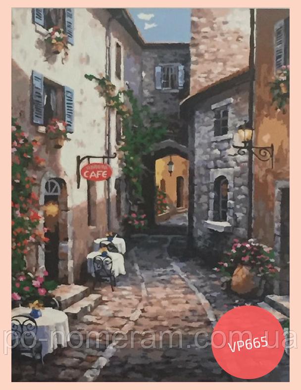 Раскраска Итальянский дворик