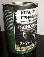 Краска грифельная «Schoolastic»