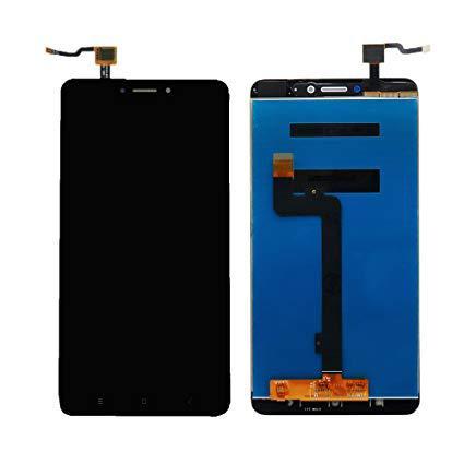 Дисплей для Xiaomi Mi Max с тачскрином черный Оригинал