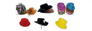 Шляпы Пластик