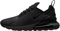 Мужские кроссовки NikeAir Max 270 (в стиле Найк Аир Макс) черные