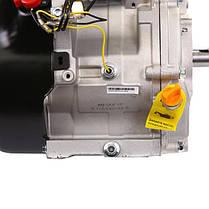 Двигатель бензиновый WEIMA WM190F-S2P NEW (16 л.с., шпонка, вал 25мм, бак 6.5л, шкив), фото 3