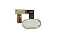 Шлейф (Flat cable) с кнопкой HOME для Meizu U20 (белый цвет)
