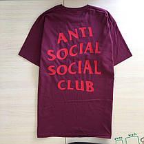 Футболка ASSC бирка Anti Social social club Качество бомба, фото 3